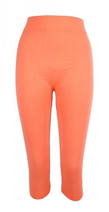 Női 3/4 leggings - narancssárga, méret M/XL