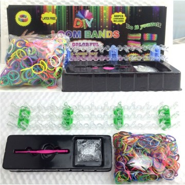Kreativní sada gumiček Loom bands - 600ks balení