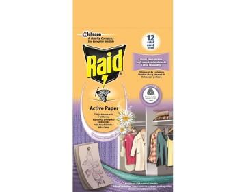 Raid Active molyirtó 4db friss virág