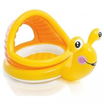 Nafukovací bazének pro děti - šnek, 145x102x74cm