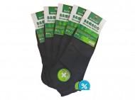 Pánské kotníkové bambusové ponožky aura.via FFD281 - 5 párů, velikost 39-42