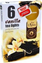 Čajové svíčky 6 kusů –  Vanilka