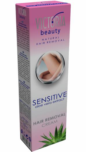 Victoria Beauty Sensitive - 3-minutový depilační krém, 100ml