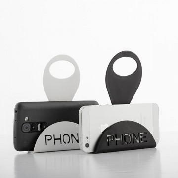 Suport pentru Încărcarea telefonului mobil phone - negru