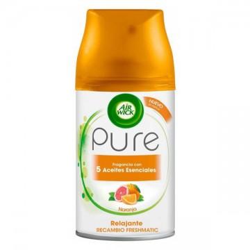 Air Wick Freshmatic Rezervă pentru odorizant - Pure Relaxing - portocaliu, 250ml