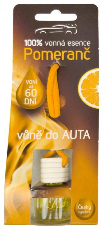 Osvěžovač do auta - pomeranč, 5 ml