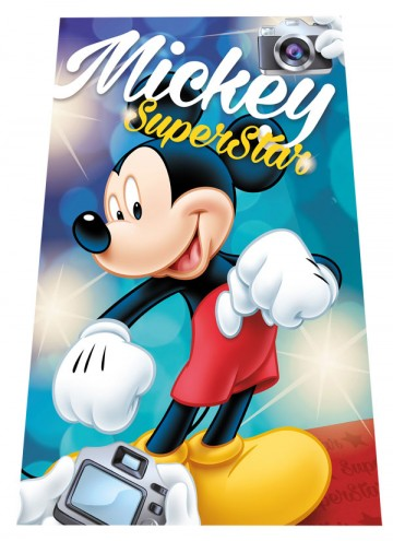 Fleece deka Mickey SuperStar 100/150