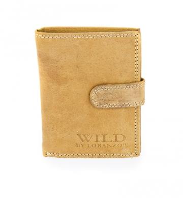 Pánska peňaženka Wild by Loranzo - pieskovec [944]
