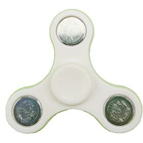Fidget spinner mini - bílý
