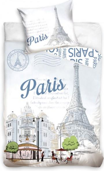 Ágyneműhuzat Párizs Eiffel torony 140/200 cm