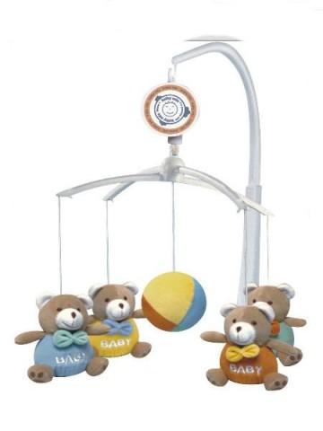 Kolotoč nad postýlku Baby Mix Medvídci Baby