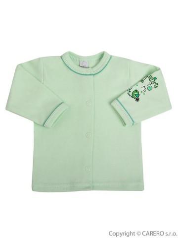 Kojenecký kabátek Bobas Fashion Benjamin zelený