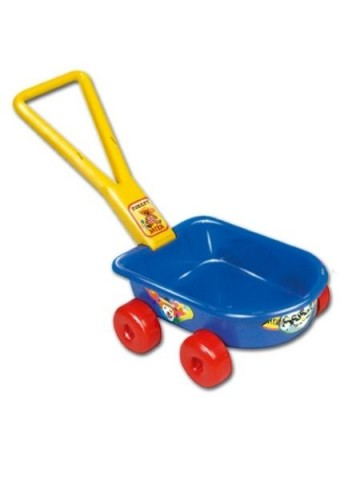 Detský vozík - červený