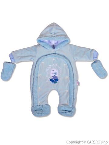 Dětská kombinéza New Baby ježek modrá