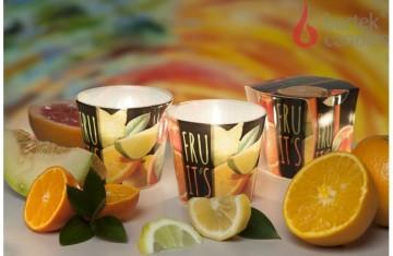 Vonná svíčka ve skle - TuttiFrutti pomeranč, 100g