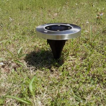Solární zahradní LED světlo se zápichem - 2ks