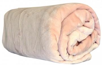 Deka z mikroflanelu, velikost 150x200 cm - béžová