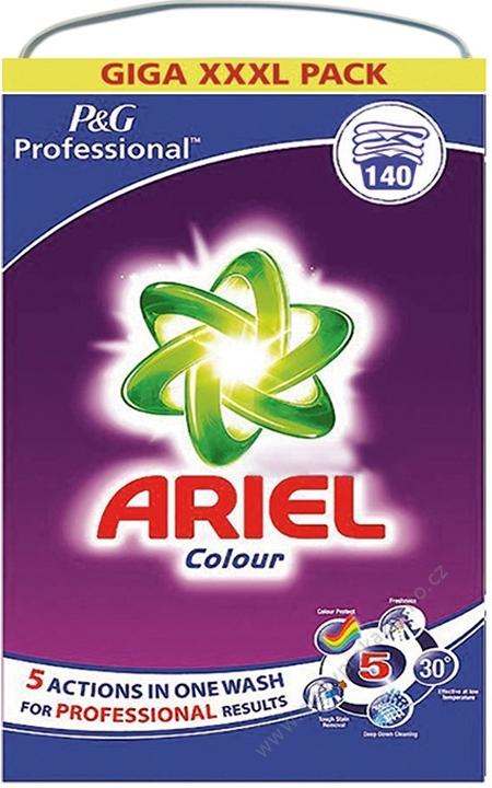 Ariel Professional prací prášek na barevné prádlo 9,1 kg 140 cyklů dovoz Německo
