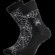 Ponožky - Pavouk - velikost 39-42