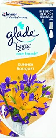 Glade by Brise One Touch, náplň - Letní květiny, 10 ml