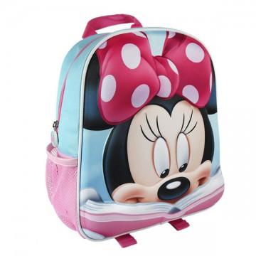 Batůžek 3D Minnie Mouse 31cm