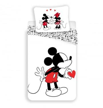 Povlečení Mickey Hearts 140/200