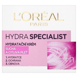 L'Oréal Paris - Hydra Specialist - hydratační krém pro suchou pokožku, 50ml