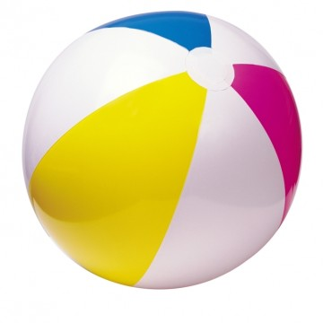 Nafukovací plážový míč Glossy, 61cm