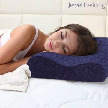Jewel bedding polštář z paměťové pěny s povlakem