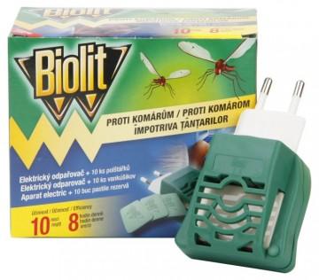 Biolit - elektrický odpařovač + náplň polštářky 10ks