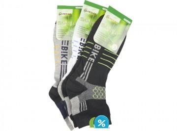 Pánské kotníkové bambusové ponožky Pesail ZH-6592 - 3 páry, velikost 43-47