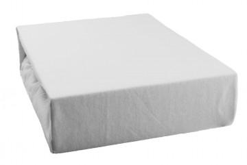 Jersey lepedő 90x200 cm - fehér