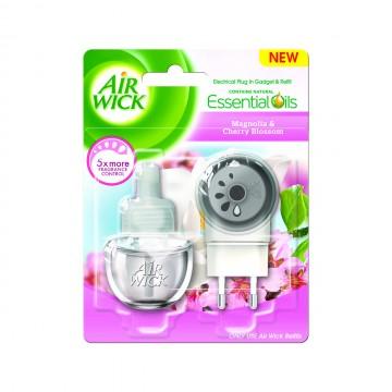 Air Wick elektrický osvežovac vzduchu, strojek & náplň - Magnolie a květy třešní