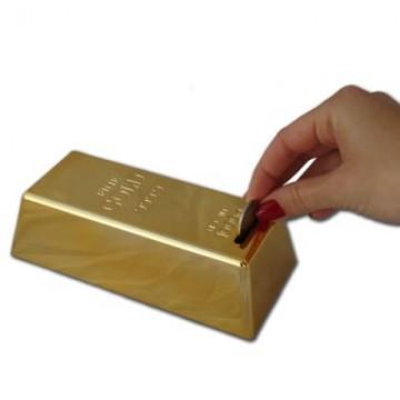 Pokladnička zlatá cihlička