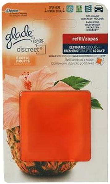 Glade Discreet náplň Exotické ovoce 8 g