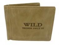 Pánská peněženka Wild Things only - pískovec [974]
