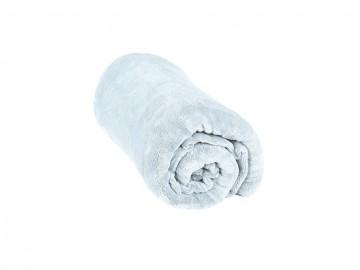 Pătură din microfibră, dimensiuni 200x220 cm - gri deschis