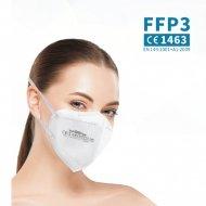 Respirátor FFP3 NR - 1 ks - bílý - WOOW