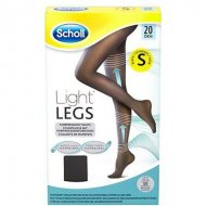 Kompresní punčochové kalhoty Scholl - 20 DEN, velikost S - černé