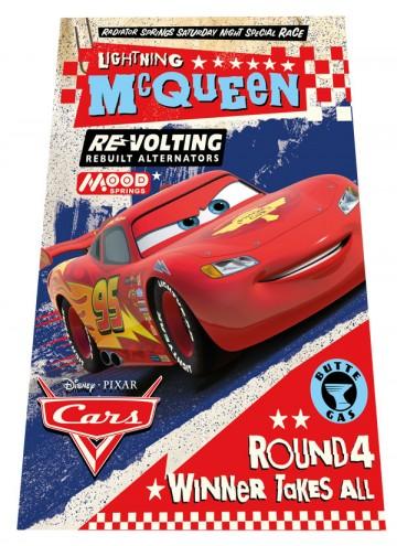 Fleece deka Cars Round 4 100/150