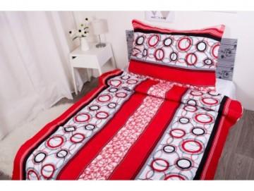 Lenjerie de pat din bumbac, pentru 2 persoane 140x200/70x90cm [PL0124]