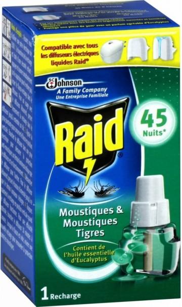 Raid - náhradní náplň pro strojek s tekutou náplní, 27ml