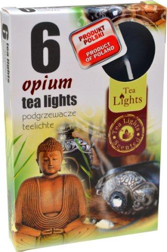 Čajové svíčky 6 kusů –  Opium
