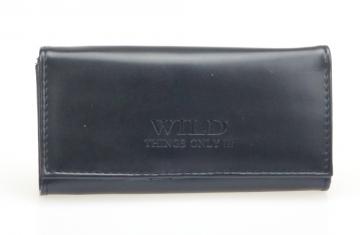 Dámská peněženka Wild Things only - černá lesklá [902]