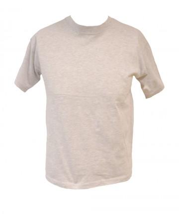 Pánské bavlněné tričko - žíhané, velikost L
