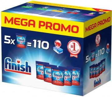 Finish Tablety do myčky - All in 1 Max - Mega Box 110 ks
