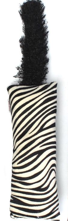 Jucărie interactivă coadă pentru pisici - desen zebră