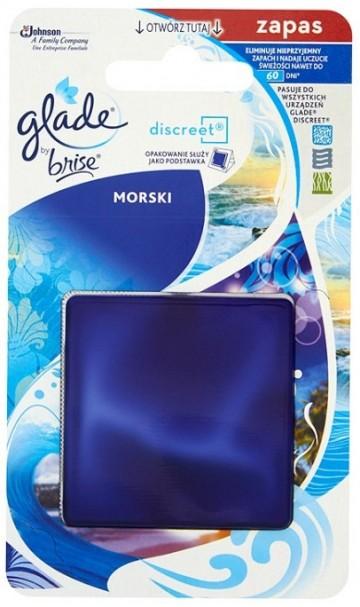 Glade Discreet náplň Moře 8 g