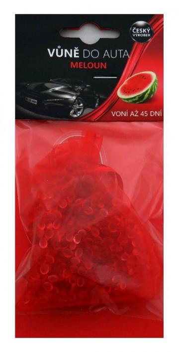 Osvěžovač vzduchu do auta meloun - sáček, 20g
