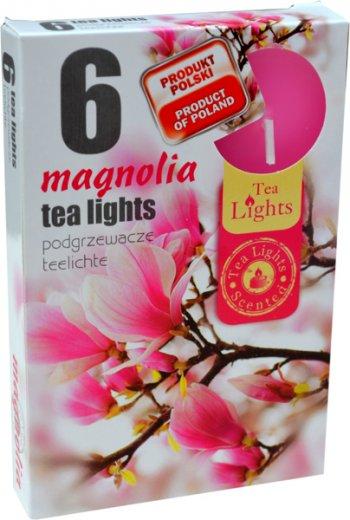 Čajové svíčky 6 kusů –  Magnolie
